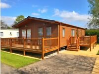 LUXURY LODGE FOR SALE, RIBBLE VALLEY COUNTRY AND LEISURE PARK ***Site fees included until 2019!!!***
