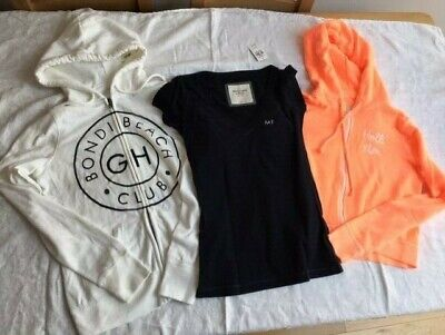 NEW ABERCROMBIE GILLY HICKS HOLLISTER WOMENS CLEARANCE 3 ITEMS
