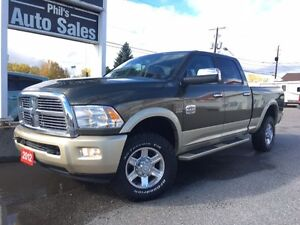 2012 Ram 2500 Laramie LongHorn 4X4 /LOADED!/ FOR ONLY $35 995!!