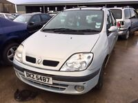 2000 Renault scenic, 1.6 petrol, for parts only, all parts available