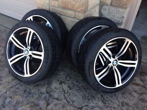 Pirelli Sottozero Winter snow tires and aluminum rims