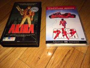 AKIRA manga dvd et vhs francais anime