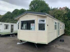 BK BREEZE 35X12 2 BED D/G ALL ELECTRIC STATIC CARAVAN FREE UK DELIVERY