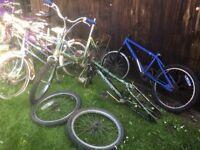Various Bikes Job Lot