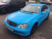 Mercedes-Benz CLK 2.7 CLK270 CDI Elegance 2dr ***PX BARGAIN £2195***