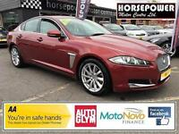 2011 Jaguar XF 2.2 TD Premium Luxury 4dr Diesel red Automatic
