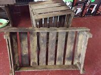 Brand New Unused Original Vintage Wooden Vegetable Crate/Storage/Display £9.00 Each