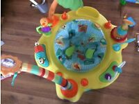 Bright stars playcentre for babies with toys – excellent condition, looks brand new