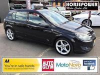 2007 Vauxhall Astra 1.8 i 16v SRi 5dr Petrol black Manual