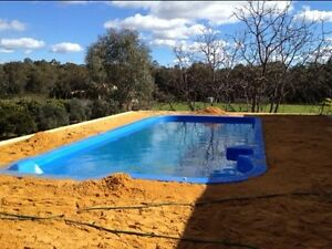 Fibreglass pool in perth region wa gumtree australia Second hand fibreglass swimming pools
