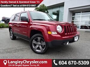 2016 Jeep Patriot Sport/North W/ SUNROOF & LEATHER UPHOLSTERY