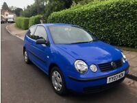 Excellent Low Mileage Volkswagen Polo 1.2 Only 70K Miles Service History Long MOT November 18
