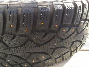 GENERAL ALTIMAX ARCTIC 205/55/16 STUDDED WINTER TIRE