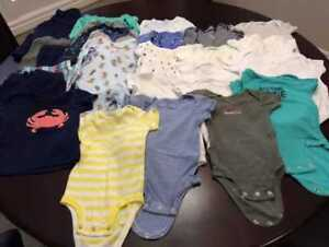Gently Used Children's Clothing Infant 3-6 Months