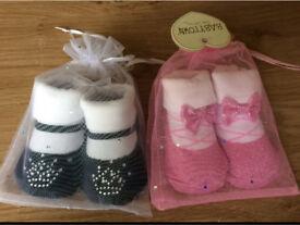 Baby girls sock/booties