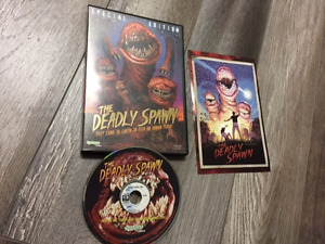 the deadly spawn dvd horreur synapse films gore