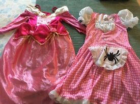 Disney dressing up dress and nursery rhyme dress age 4-6