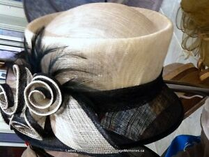 Brand new hair clip fascinator hat for Queens Plate