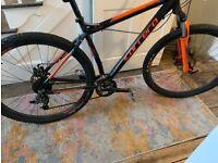 "Carrera Sulcata Ltd Edition Mountain Bike 29"" WHEELS 7005 T6 orange blue"