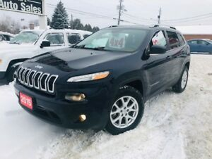 2015 Jeep Cherokee NORTH 4X4 *REMOTE START *HEATED SEATS/WHEEL
