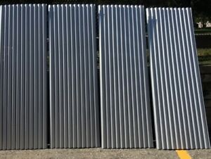 metal roofing/siding/covering 8x3
