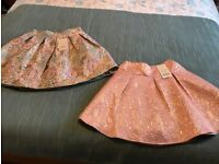 2 brand new with tags Monsoon skirts age 11 -12
