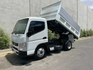 2014 Fuso Canter Factory Tipper  Auto trans  Turbo diesel engine  3 seater  Aircon  Power steering Bell Park Geelong City Preview