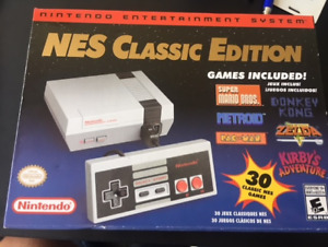 New NES classic for sale with receipt
