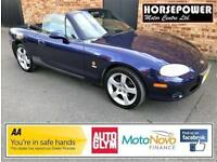 2003 Mazda MX-5 1.6 Nevada 2dr Petrol blue Manual