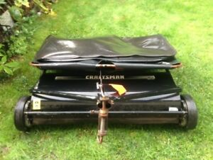 Craftsman 42 inch yard sweeper tow behind$80