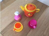 Children's Colourful Musical Tea Set