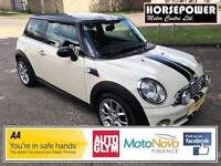 2008 MINI Hatch 1.6 Cooper 3dr Petrol white Manual