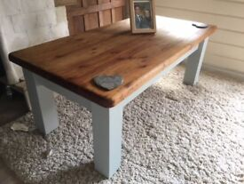 Renovated large coffee table