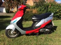 2012 Peugeot vclic 50cc EVP2 scooter moped low mileage