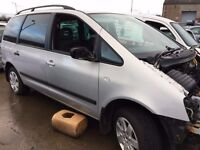 2003 Ford galaxy, 1.9 diesel, for parts only, all parts available