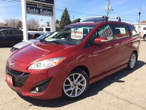 2013 Mazda Mazda5 GT LEATHER, SUNROOF, 6 PASS.  FOR ONLY $16 995