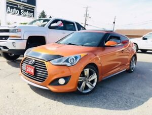 2014 Hyundai Veloster TURBO *NAV * REMOTE START *PANORAMIC ROOF