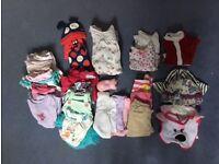 3-6 months baby girl bundle