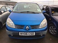 2006 Renault scenic, 1.6 petrol, breaking for parts only, all parts available