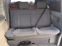 VW Transporter T4 double rear bench seats with arm rests