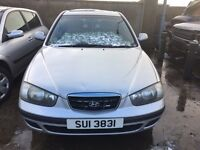 2003 Hyundai elantra, 2.0 diesel, breaking for parts only, all parts available