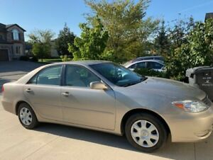 """""""Safetied"""" 2002 Toyota Camry LE with cruise, AC, 147660km"""