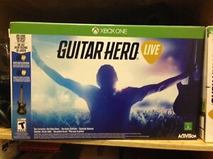 GUITAR HERO LIVE XBOX ONE $50.00 + TAXES