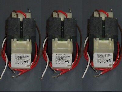 Lot Of 3 Basler Electric Heater Furnace Transformers 120v - 24v - 5060hz
