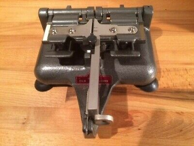 Premier Senior Deluxe Automatic16mm film splicer for sale  Shipping to Ireland
