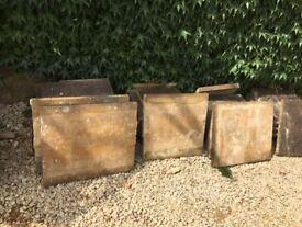Capping stones/flagstones (Horton stone)