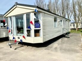 Cheap double glazed and centrally heated caravan for sale , Sited in Essex
