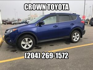 CERTIFIED! 2014 TOYOTA RAV4 XLE AWD! CLEAN CARPROOF! ONE OWNER,