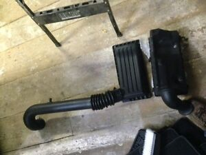 1997 to 2004 Stock Air Intake , with a K & N air filter