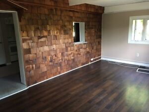 2 bed / 1 bath apt for rent in Manotick. $1350/month all incl.